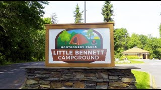 VLOG 59 Tour oḟ Little Bennett Campground - Clarksburg MD