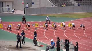 20150607群馬県記録会女子100m6組