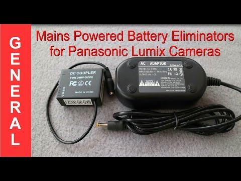 Powering Panasonic Lumix Cameras With Mains Adaptors