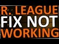 Rocket League Not Working (Windows 10 - FIX)