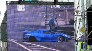 Bavaria Moscow City Racing - Bugatti EB 110
