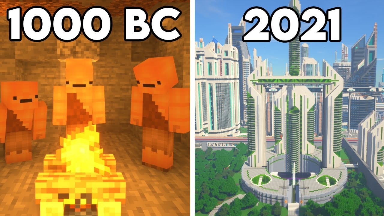 Download History of Humans in Minecraft