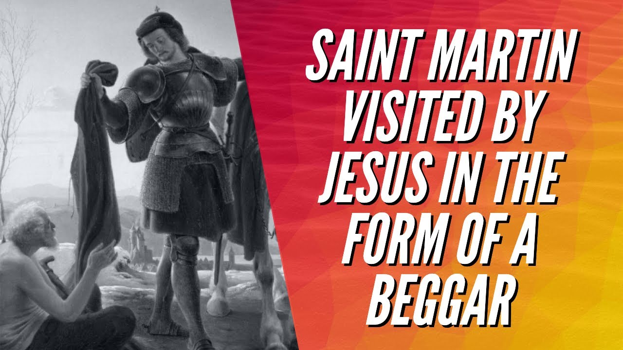 SAINT MARTIN VISITED BY JESUS IN THE FORM OF A BEGGAR | Stephen Powell