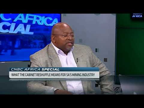 This is what SA's new Mineral Resources Minister Gwede Mantashe needs to get right