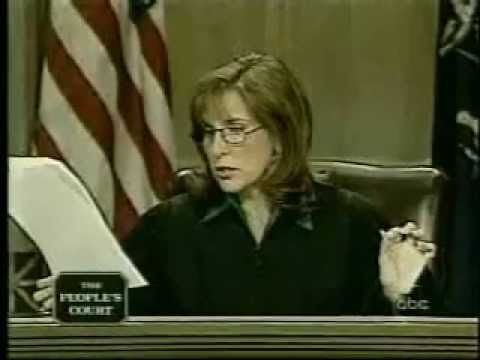 Judge Marilyn Milian loses her cool on People's Court from YouTube · Duration:  1 minutes 43 seconds