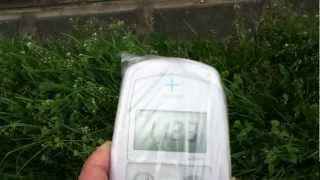 2012年4月19日に測りました 下水道の施設のようですが、施設から汚染水...