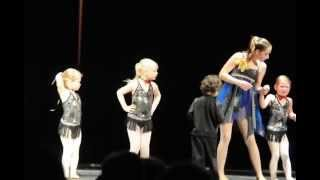 First Dance Recital for the Tiny Tots to the song Razz-Ma-Tazz.