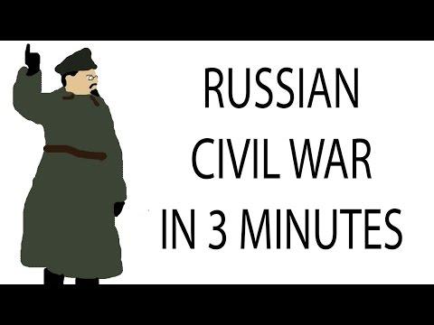 Russian Civil War | 3 Minute History