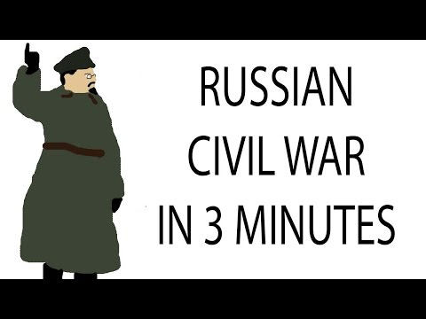 Russian Civil War | 3 Minute History