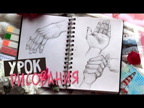 Как нарисовать руки держащие