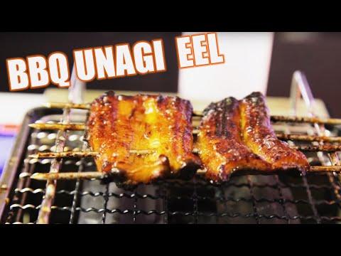 Extremely Graphic: LIVE BBQ EEL UNAGI