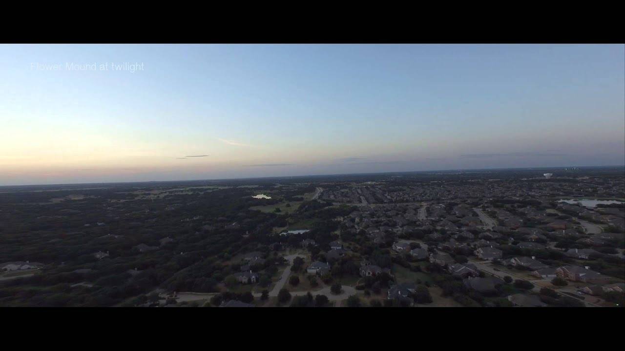 City of Flower Mound at Twilight