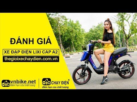 Đánh giá xe đạp điện Lixi Cap A2