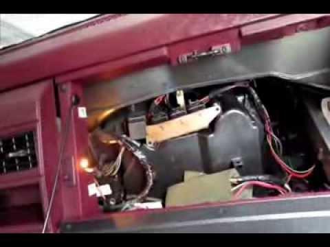 1997 S10 Blower Wiring Diagram How To Change Blower Motor Resistor Silverado Sierra Tahoe