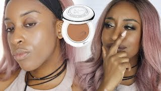 IT Cosmetics Solid Serum Foundation Review + Demo | Jackie Aina