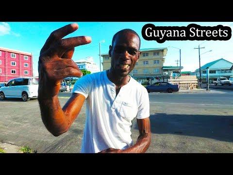 Guyana Streets - Walking in Georgetown Sept 2017 (4K)