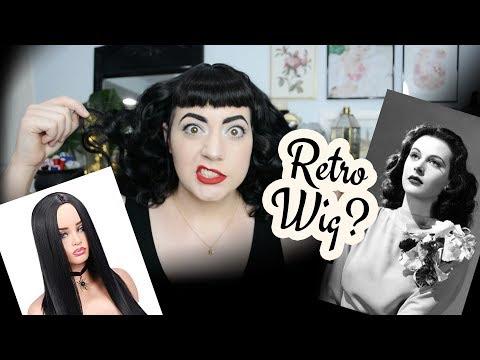 Making My Own Vintage Wig! // Trying Out Rachel Maksy's Tutorial