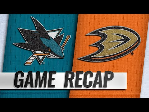 Sharks score seven in win vs. Ducks