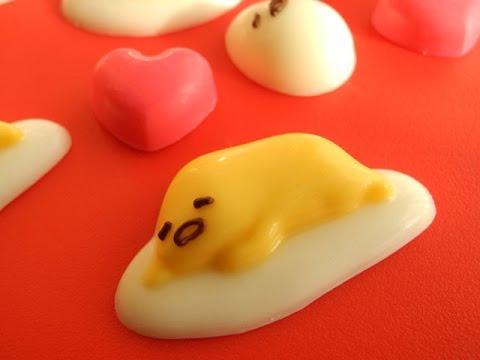 簡単「ぐでたま形チョコキット」Easy!! \u0026quot;Gudetama chocolate kit\u0026quot; , YouTube