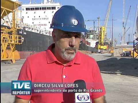 TVE Repórter Porto de Rio Grande II 05/06/2013