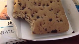 Nutrisystem Taste Test - Chocolate Chip Scone
