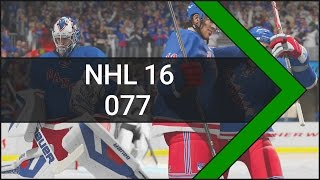 Let's Play NHL 16 [Xbox One] #077 New York Rangers vs. Carolina Hurricanes