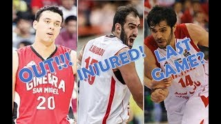 Gilas Pilipinas vs Iran Pre-Game Updates | Slaughter Out, Haddadi Injured, Bahrami's Last Game?