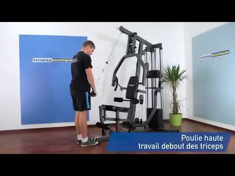 Presse De Musculation Carbon X Press Moovyoo Youtube