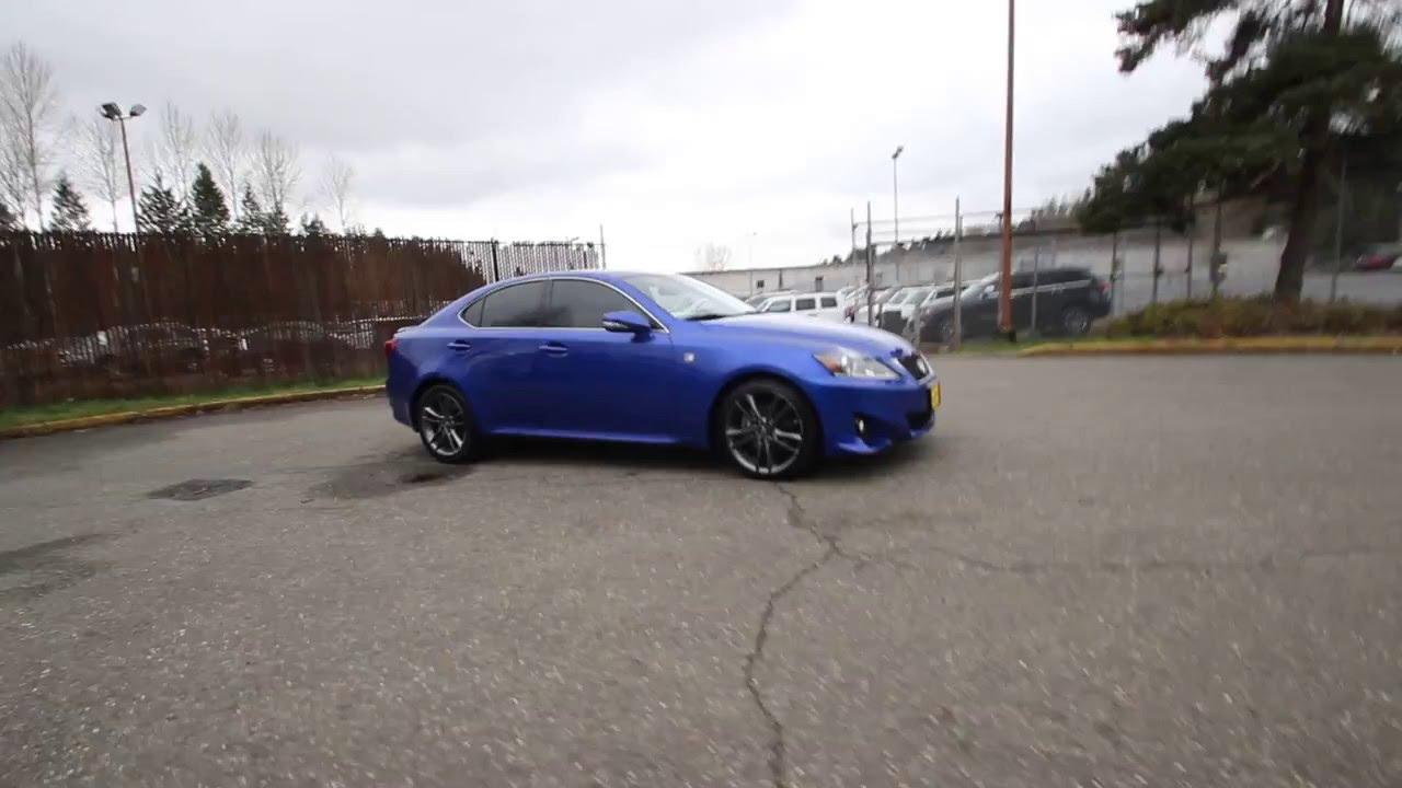 2012 Lexus IS 250 F Sport | Ultrasonic Blue Mica | C5180596 | Redmond |  Seattle |