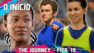 ALEX HUNTER VOLTOU!   FIFA 19 - The Journey #1 - O INÍCIO (A Jornada)