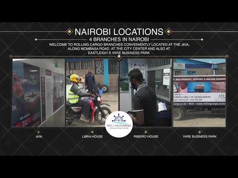 Welcome to Rolling Cargo Nairobi Locations