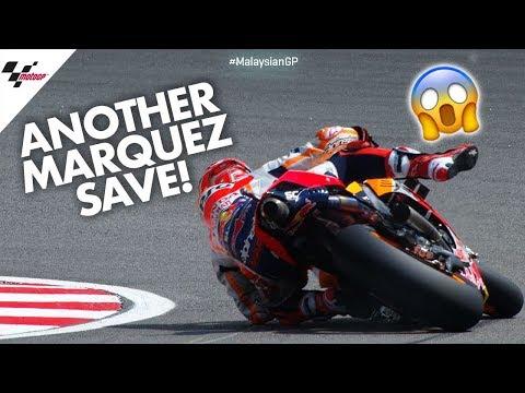 ANOTHER Marc Márquez save!   2019 #MalaysianGP
