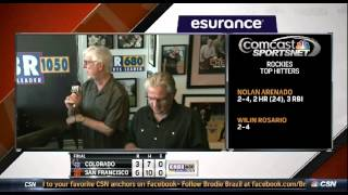 San Francisco Giants Postgame Wrap Clip from June 28, 2015