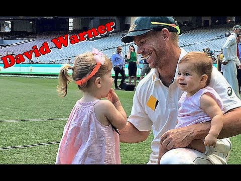 David Warner's Cute Daughters - I LOVE CRICKET