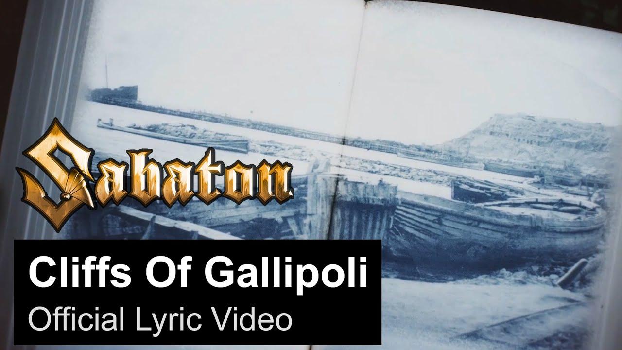 SABATON - Cliffs Of Gallipoli (Official Lyric Video)