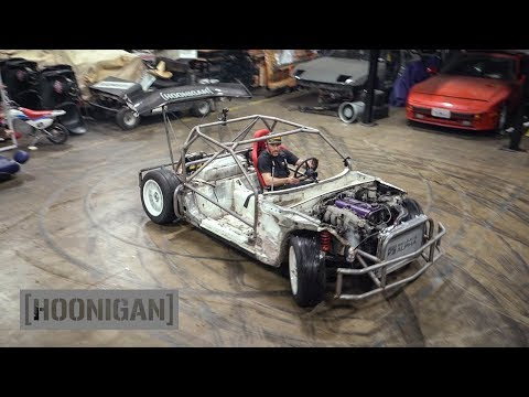 [HOONIGAN] DT 211: $200 Miata Build [Part 10] Shartkart Rips The Shop Apart #DANLINE
