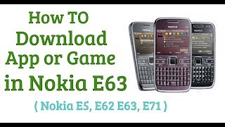 Download lagu How To Install Apps or Game in Nokia E63
