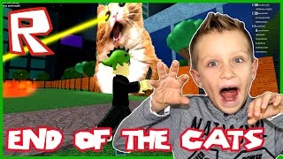 The End Of The Cats / Roblox MAD Games