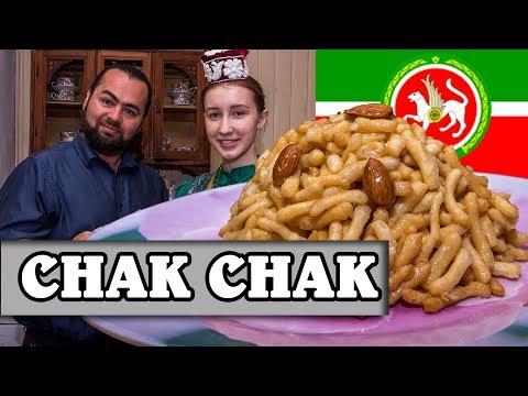 Chak Chak. Tatarstan. Kazan. Traditional recipe