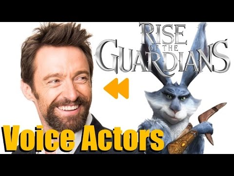 "Rise of the Guardians"" Voice Actors and Characters - YouTube"