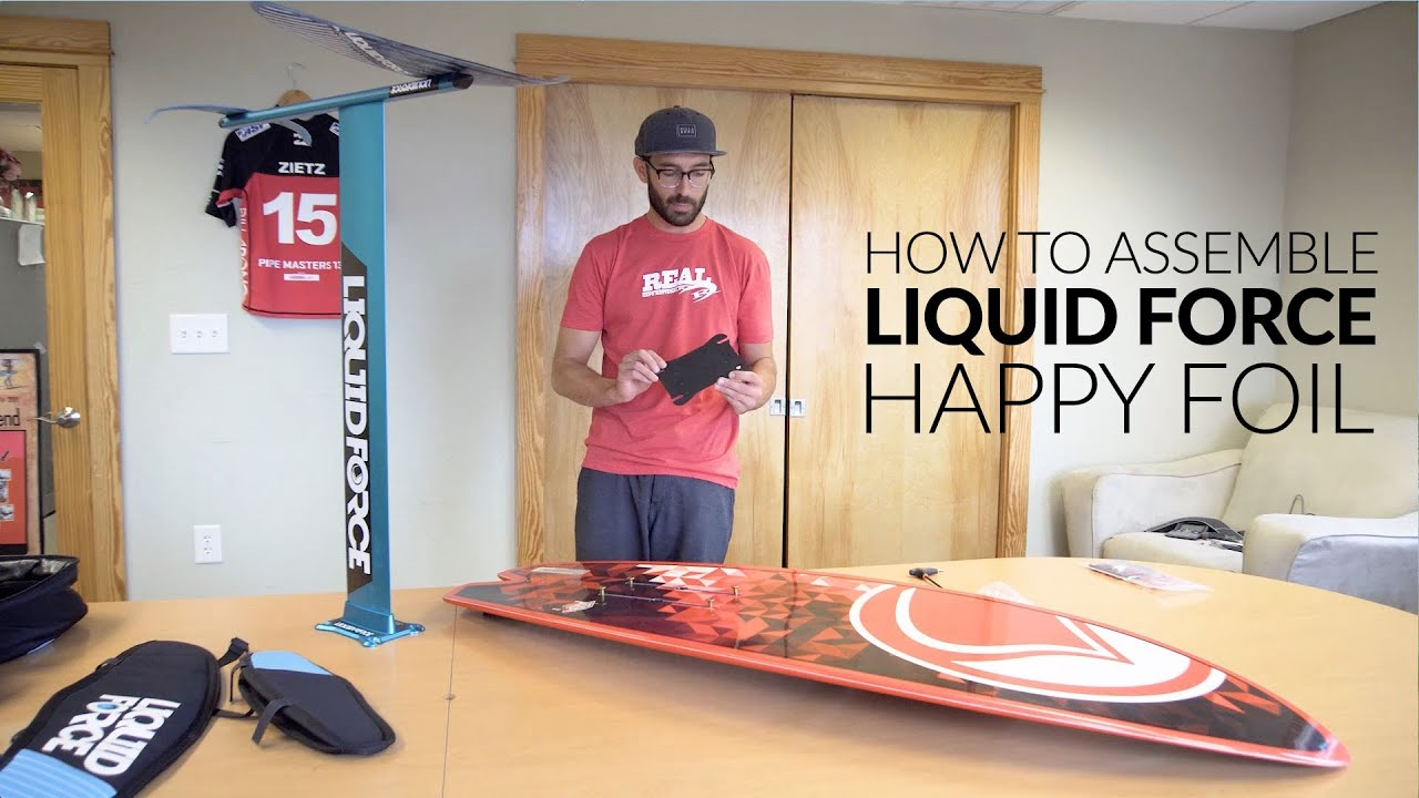 How to assemble the Liquid Force Happy Foil