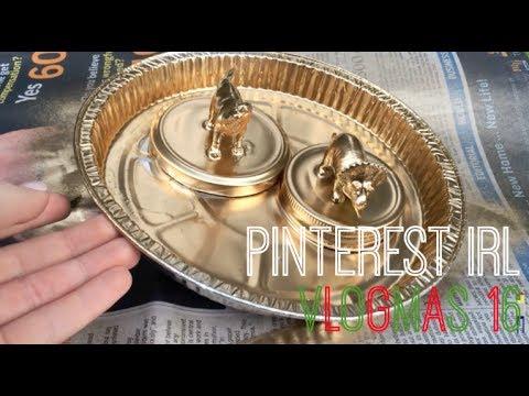 Pinterest DIY Jar lids tutorial    Vlogmas Day 16