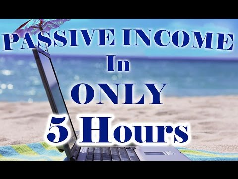 How To Create A Passive Income In ONLY 5 Hours - $3,300 Profit