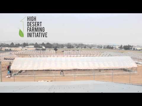 High Desert Farming Hoop House Covering - University of Nevada, Reno