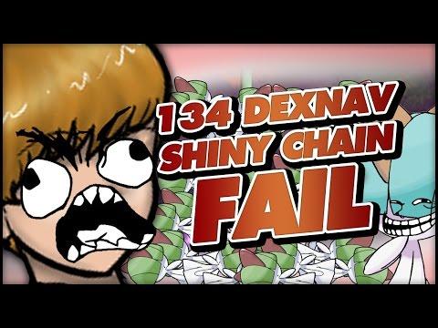134 DexNav shiny chain fail - A friendly Pokémon Omega Ruby and Alpha Sapphire PSA