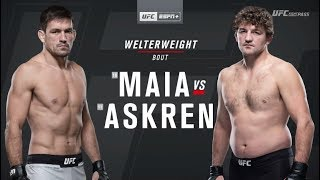 UFC on ESPN+ 20: Demian Maia vs. Ben Askren recap
