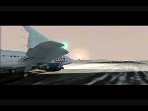 Armavia Airbus A320 Yerevan Approach