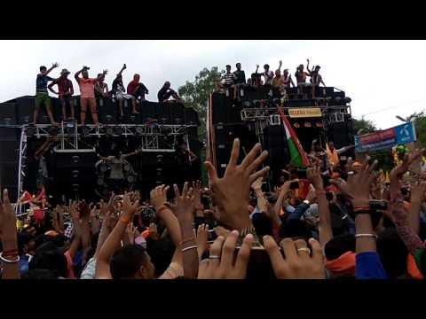 DJ Sharma Behjoi And Dj Monu Meerut Comptition At Gangan Pool Moradabad 2017