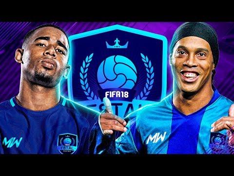 F8TAL PRIME RONALDINHO VS IF JESUS | SEMI FINAL VS WOLFY!! - FIFA 18 ULTIMATE TEAM