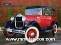 MM CLASICOS FORD MODEL A SEDAN COUPE 1929